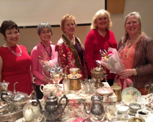 Victorian Tea Party for Walnut Creek Civic Arts League